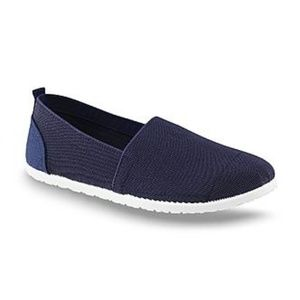 Basic Editions Hesper Navy Slip-On Sneaker